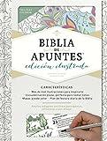 Rvr 1960 Biblia de Apuntes, Edición Ilustrada, Blanco En Tela Para Colorear