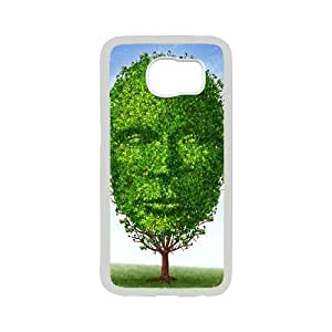 DIY Interesting Tree Phone Case Fit To Samsung Galaxy S6 , Good Choice For Your Phone