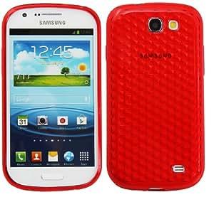 Nueva Carcasa Cover Funda en Silicona para Samsung Galaxy Express - Rojo
