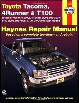 2000 toyota tacoma manual