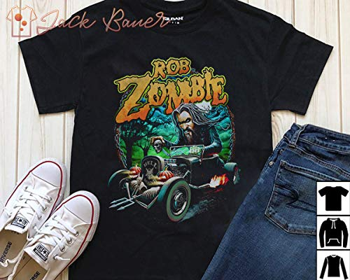 Rob Zombie Halloween Hotrod T-Shirt Long T-Shirt Sweatshirt -