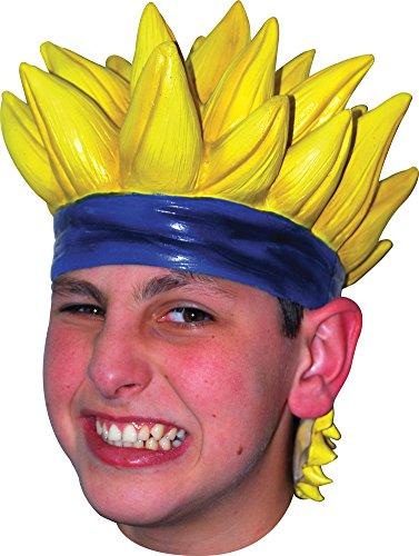 Wig Anime 7 Latex Yellow Costume Accessory -