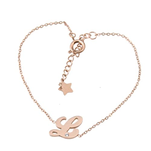 Amazon.com: likefun pulsera letra regalo de la A a la Z ...