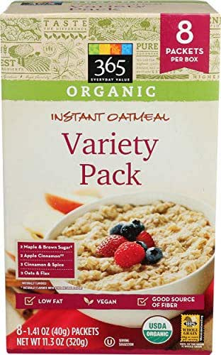 Oatmeal: 365 Everyday Value Instant Oatmeal