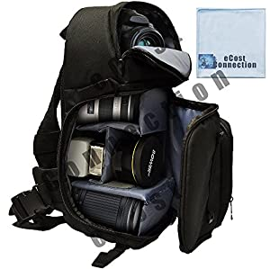 Amazon.com : Deluxe Digital Camera/Video Sling Style Shoulder Bag ...