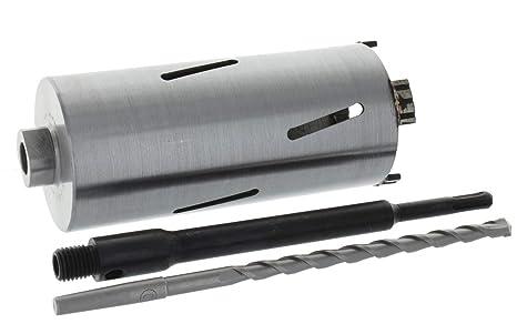 SDS-plus Aufnahme und Zentrierbohrer 68 mm Premium Diamant Bohrkrone Beton Nutzl/änge 180 mm