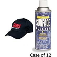 Case of 12 Cans Stoner Plastic Surface Cleaner  13 oz aerosol