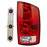 Passengers Taillight Tail Lamp with Circuit Board Replacement for Dodge Pickup Truck 55077348AF