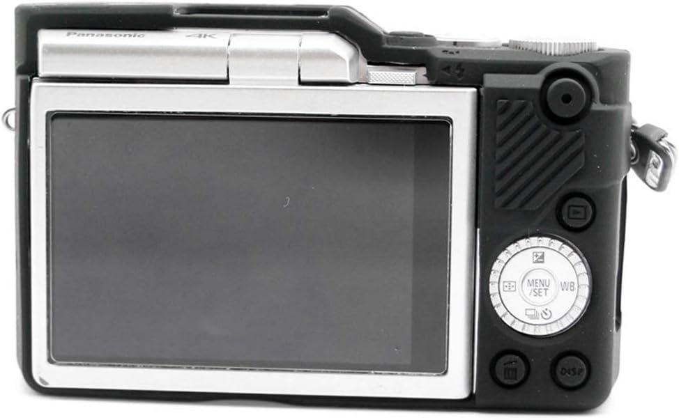 First2savvv Caoutchouc Housse Etui sur Mesure pour Appareil Photo Panasonic Lumix DMC GF10 GF9 GX900 GX950 GF9 GX850 GX800 XJPT-GF10-GJ-SX-01