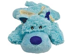 KONG Cozie Baily the Blue Dog, Medium Dog Toy, Blue