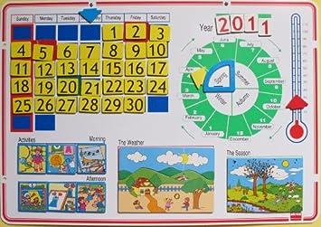 Akros Akros30155 - Calendario Escolar: Amazon.es: Juguetes y juegos