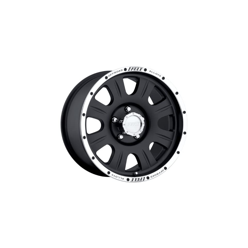 Eagle Alloys 140 Black Wheel (17x8/5x135mm)