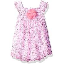 Bon Bebe Baby Girls' 1 Piece Chiffon Sundress