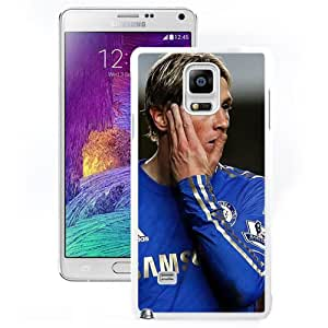 Chelsea Fernando Torres (2) Durable High Quality Samsung Note 4 Case