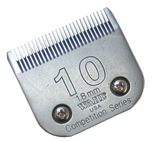 Wahl Professional Animal 2358-100 #10 Professional (1.8mm (1/16″) cut) Medium Competition Blade, My Pet Supplies