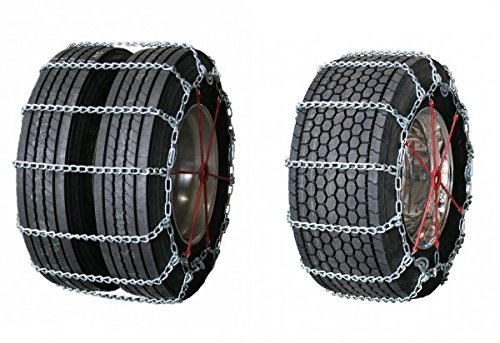 Quality Chain Wide Base Cam 8mm Commercial Truck Carbon Link Tire Chains (3269QC) by Quality Chain