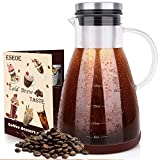 Best Cold Brew Coffee Makers - ESEOE Cold Brew Coffee Maker, Glass Pitcher Cold Review