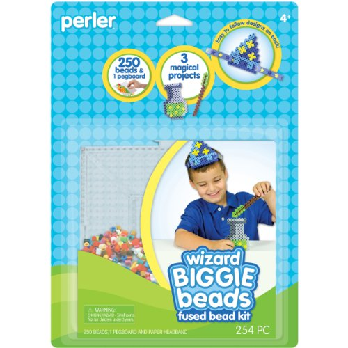 Perler Beads Biggie Fused Bead Kit, Wizard -