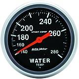 Auto Meter 3431 Sport-Comp Mechanical Water Temperature Gauge