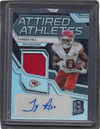 c259c1d6 Tyreek Hill Autographed Jersey - 2017 Panini Spectra Attired ...