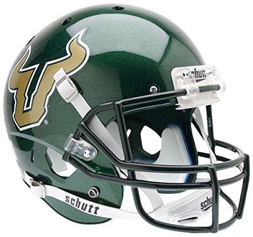 Schutt AiR XP Full-Size REPLICA Football Helmet USF (GREEN) ()