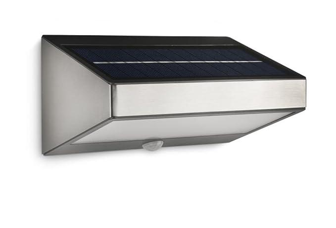 Philips greenhouse lampada da parete da esterno a energia solare