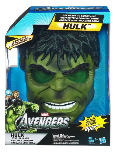 (Marvel The Avengers Hulk Light-Up Mask)