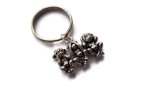 Halo accesorios UK pequeño de 3 monos sabios, no ver, no oír ...