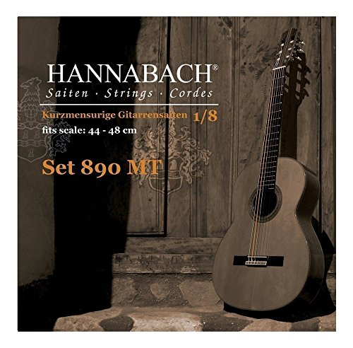 Hannabach 653059 Series 890 Duel 44-48cm Strings for 1/8 Children Classic Guitar