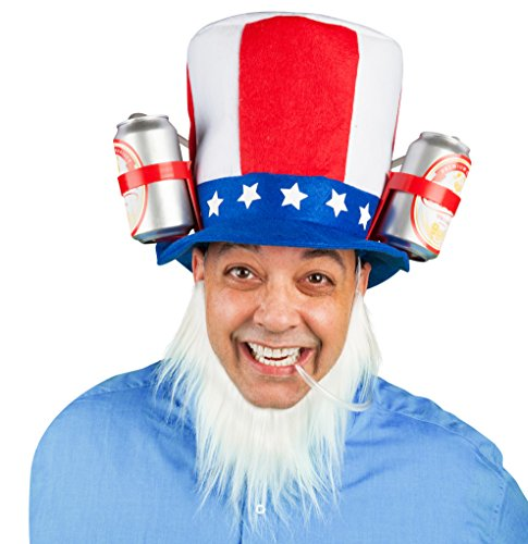 [BigMouth Inc Uncle Sam's Drinking Hat] (Beer Drinking Hat)