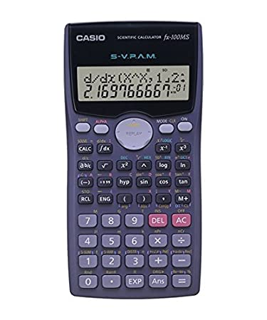 Casio FX 100MS Scientific Calculator Amazon fice Products