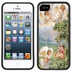 Angels Garden Handmade iPhone 5 5S Black Case