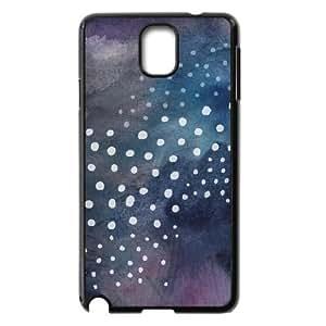Samsung Galaxy Note 3 Case, Abstract Watercolor Hard Case For Samsung Galaxy Note 3(Black) Yearinspace057355