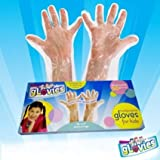 Glovies Multipurpose LATEX-FREE DISPOSABLE Gloves for Kids (50 Count)
