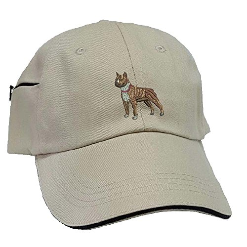 - YourBreed Clothing Company Pit Bull Low Profile Baseball Cap with Zippered Pocket.