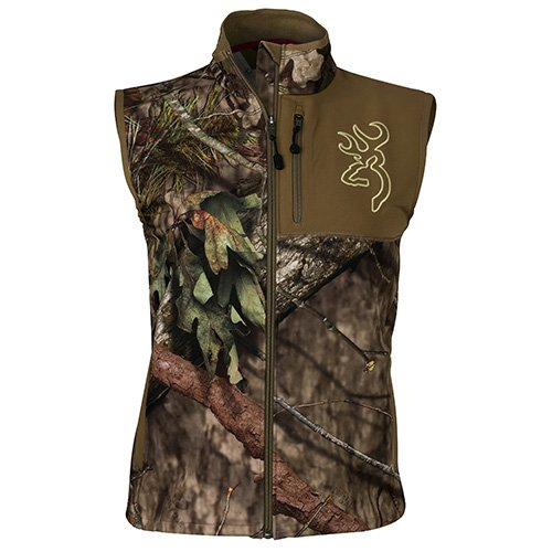 Browning 3056982803 Women's Hell's Canyon Mercury Vest, Mossy Oak Break-Up Country, Large by Browning