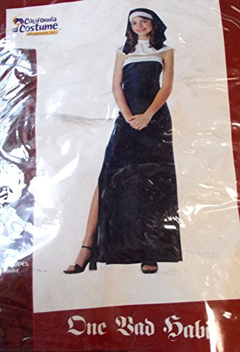 [Nun One Bad Habit Teen Costume Junior 3-5 NIP] (Bad Habit Nun Costumes)