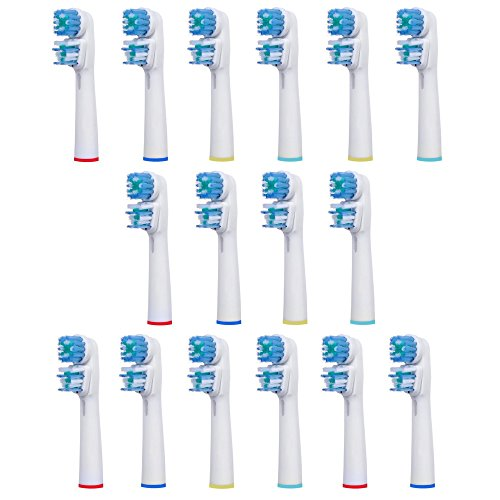 16 pcs Replacement Brush Heads Compatible with Oral-B Ele...
