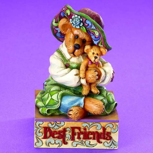 Jim Shore Boyds Maebell Mcbearsley with Teddy #4015158 - Jim Shore Teddy Bear