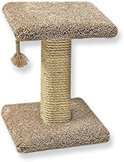 product image for Beatrise Pet Products Sisal Post with Base and Perch