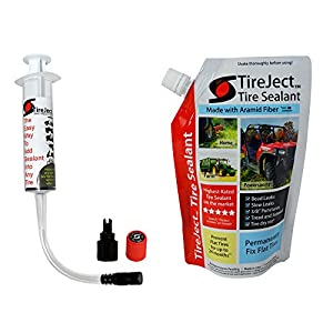 TireJect Tire Sealant - 10oz Tire Repair Kit (Best Tire Sealant - Protect Flat Tires)