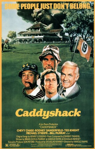 Pop Culture Graphics Caddyshack 27x40 Movie Poster from Pop Culture Graphics