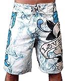 New 2011 Ed Hardy Love Kills Slowly White Board Shorts Swim Surf Trunks (32)