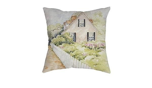 Amazon.com: DAVITU US Warehouse - Cushion Cover Vintage ...