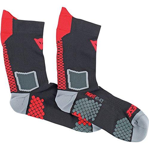 - Dainese Unisex-Adult D-Core Mid Sock Black Medium