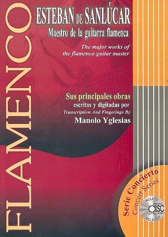 Maestro de la Guitarra Flamenca. Gitarre, Tabulatur