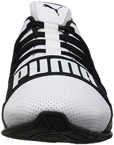 PUMA Herren Cell Regulate SL Sneaker Puma Weiß-Puma Schwarz
