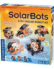 Thames & Kosmos SolarBots: 8-in-1 Solar Robot STEM Experiment Kit   Build 8 Cool Solar-Powered Robots in Minutes   No Batteries Required   Learn About Solar Energy & Technology   Solar Panel Included
