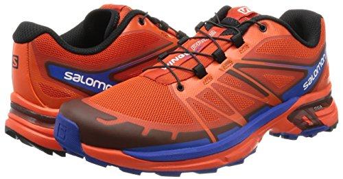 Salomon Wings Pro 2 lava orange/tomato red/blue yonder