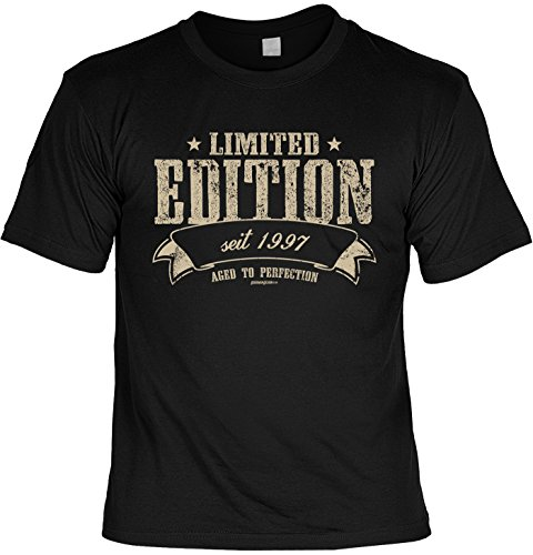 T-Shirt - Limited Edition Seit 1997 - lustiges Sprüche Shirt als Geschenk zum 20. Geburtstag